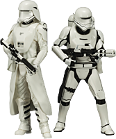 Star Wars - First Order Stormtrooper & First Order Flametrooper 1/10th Scale ArtFX Statue (Set of 2) | Popcultcha