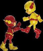 Flash & Reverse Flash Hybrid Metal Action Figure 2-Pack