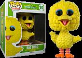 "Sesame Street - Big Bird Flocked 6"" Super Sized Pop! Vinyl Figure Main Image"
