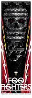 Foo Fighters - Sonic Highways World Tour Suncorp Stadium, Brisbane 2015 Art Print by Rhys Cooper