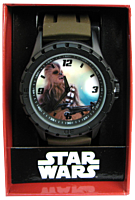 Star Wars Episode VII: The Force Awakens Chewbacca Silicone Strap Watch