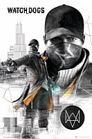 Watch Dogs - City Poster (503)
