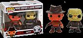 Freddy & Jason Battle-Damaged Pop! Vinyl 2-Pack