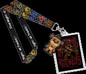 Five Nights at Freddy's - Freddy Pop! Lanyard (RS)