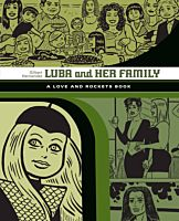 Love and Rockets Library - Luba and Her Family by Gilbert Hernandez Paperback