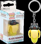 Bananya - Black Bananya Pocket Pop! Vinyl Keychain by Funko