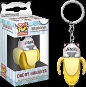 Bananya - Daddy Bananya Pocket Pop! Vinyl Keychain by Funko.