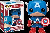 Captain America - Captain America Pop! Vinyl Bobble Head Figure