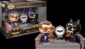 Batman Begins - Batman & Commissioner Gordon with Light Up Bat Signal 80th Anniversary Movie Moments Pop! Vinyl Figure 2-Pack