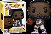 NBA Basketball - Lebron James L.A. Lakers White Uniform Funko Pop! Vinyl Figure