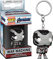 Avengers 4: Endgame - War Machine Funko Pocket Pop! Vinyl Keychain.