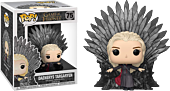 Game of Thrones - Daenerys Targaryen on Iron Throne Deluxe Pop! Vinyl Figure