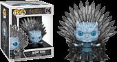 Game of Thrones - Night King on Iron Throne Deluxe Pop! Vinyl Figure