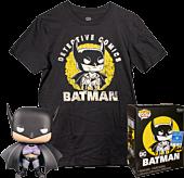Batman - First Appearance Batman Pop! Vinyl Figure & T-Shirt Box Set