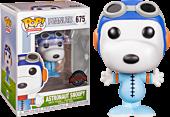 Peanuts - Astronaut Snoopy in Blue Suit Funko Pop! Vinyl Figure.