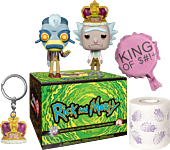 Rick and Morty - King Of S#!+ Exclusive Collector Box by Funko.
