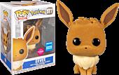 Pokemon - Eevee Flocked Pop! Vinyl Figure (2020 Wondrous Convention Exclusive)
