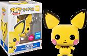 Pokemon - Pichu Flocked Pop! Vinyl Figure (2020 Wondrous Convention Exclusive)