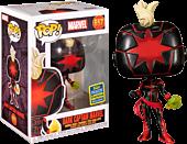 Captain Marvel - Dark Captain Marvel Pop! Vinyl Figure (2020 Summer Convention Exclusive)