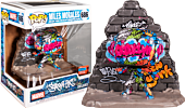 Spider-Man - Miles Morales Grafitti Street Art Collection Deluxe Pop! Vinyl Figure (2020 Fall Convention Exclusive)