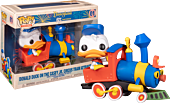 Disneyland: 65th Anniversary - Donald Duck on the Casey Jr. Circus Train Attraction Deluxe Pop! Vinyl Figure