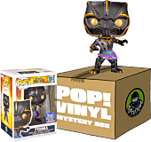 Black Panther (2018) - T'Chaka Funko Hollywood (Includes T'Chaka & 4 Mystery Artist Series Pop! Vinyl Figures)