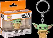Star Wars: The Mandalorian - The Child (Baby Yoda) Pocket Pop! Vinyl Keychain