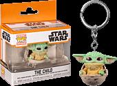 Star Wars: The Mandalorian - The Child (Baby Yoda) in Hover Pram Pocket Pop! Vinyl Keychain