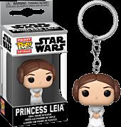 Star Wars - Princess Leia Pocket Pop! Vinyl Keychain