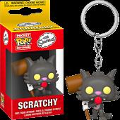 The Simpsons - Scratchy Pocket Pop! Vinyl Keychain