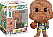 NBA Basketball - Squatch Seattle SuperSonics Mascot Pop! Vinyl Figure (2021 Spring Convention Exclusive) (Popcultcha Exclusive)
