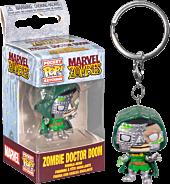 Marvel Zombies - Dr. Doom Zombie Pocket Pop! Vinyl Keychain
