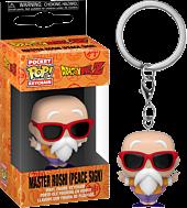 Dragon Ball Z - Master Roshi Peace Sign Pocket Pop! Vinyl Keychain