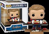 The Avengers - Captain America Victory Shawarma Diorama Deluxe Pop! Vinyl Figure