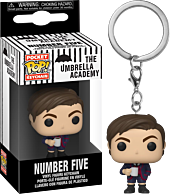 The Umbrella Academy - Number 5 Pocket Pop! Vinyl Keychain