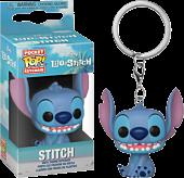 Lilo & Stitch - Stitch Seated Pocket Pop! Vinyl Keychain