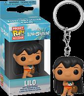 Lilo & Stitch - Lilo with Camera Pocket Pop! Vinyl Keychain
