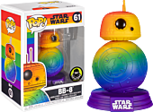 Star Wars - BB-8 Rainbow Pride Pop! Vinyl Figure (Funko / Popcultcha Exclusive)