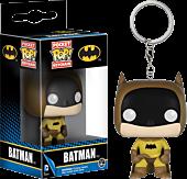 75th Anniversary Batman Yellow Pocket Pop! Vinyl Keychain