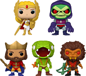 Masters of the Universe - Hey, What's Going On? Pop! Vinyl Figure Bundle (Set of 5)