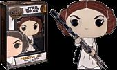 "Star Wars - Princess Leia 4"" Pop! Enamel Pin"