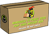 Funko Poplandia Mystery Box - Warehouse to Public 2020 (Box of 36 Pop! Vinyl Figures)