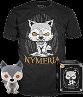 Game of Thrones - Nymeria Funko Pop! Vinyl Figure & T-Shirt Box Set.