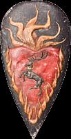 Game of Thrones - Stannis Baratheon Shield Pin