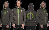 Overwatch - Ultimate Genji Premium Zip-Up Hoodie Full spin