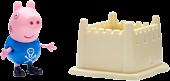 "Peppa Pig - George Pig & Sandcastle 2"" Action Figure | Popcultcha"