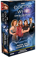 Doctor Who - Time of the Daleks: River, Amy, Clara & Rory Friends Board Game Expansion
