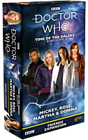 Doctor Who - Time of the Daleks: Mickey, Rose, Martha & Donna Friends Board Game Expansion