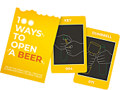 100 Ways to Open a Beer Card Set