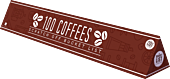 100 Coffees Scratch Poster